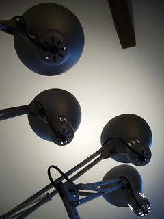 Cosy lighting: one of four turned on | by plindberg