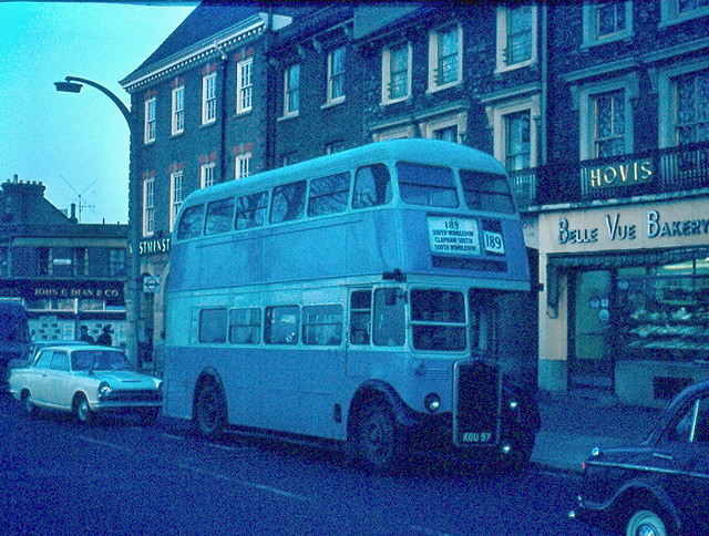 1966 237 ex RTL607 Bellevue Road, Wandsworth Common