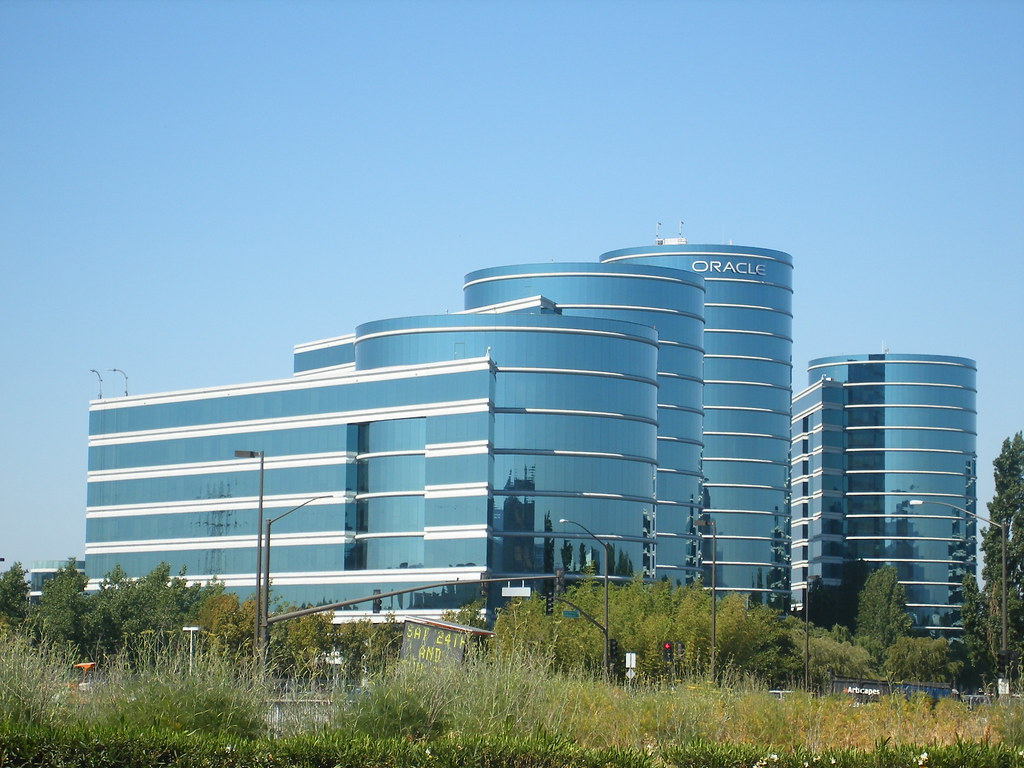 Oracle Offices The Futuristic Oracle Office Building