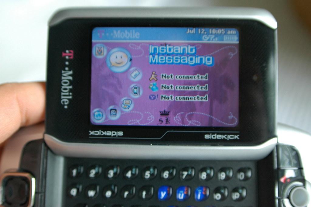 Sharp Av200 T Mobile Sidekick 3 11 Taro Matsumura Flickr