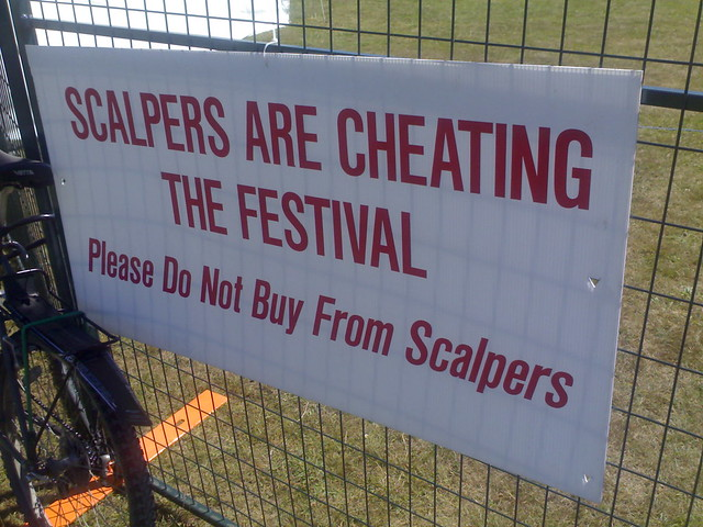 The Scalpers Are Cheating The (Vancouver Folk Music) Festival