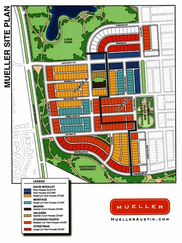 Mueller site plan, phase 1 | by riddle