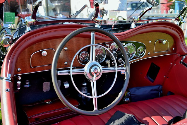 1933 Mercedes Benz 380K Special Roadster Erdmann Rossi