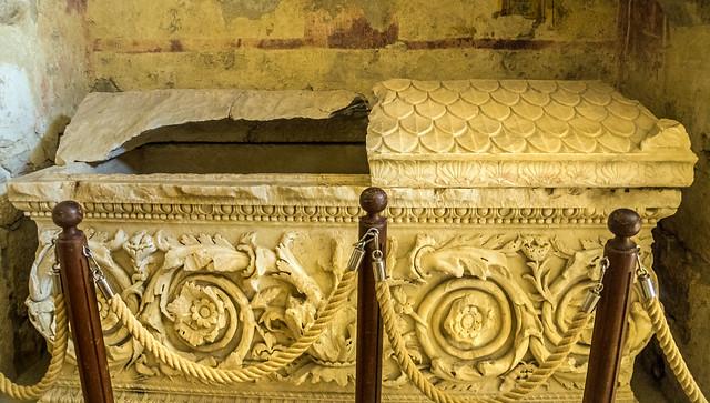 tomb of st nicholas of myre, turkey