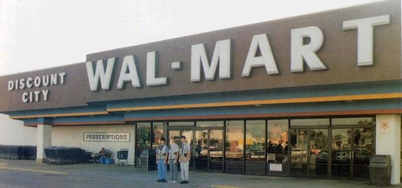 Image result for old walmart store