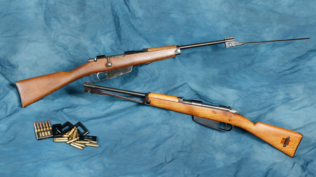 IMG_0364 | Two Carcano M91/38 (cavalry carbine) 6 5x52 Carca… | Flickr