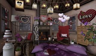 Valentine's Day- Red & Purple Passion | by Hidden Gems in Second Life (Interior Designer)