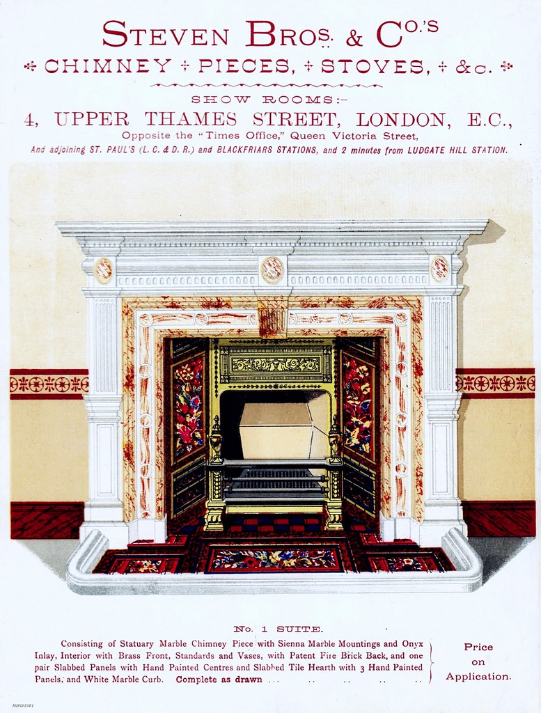 Steven Bros Co Fireplace Suite Fireplace Clive Hurst Flickr