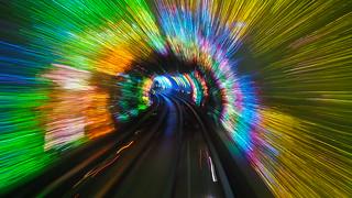 Shanghai sightseeing tunnel | by Godeke Michel