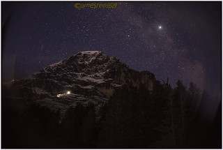 Night at Eiger