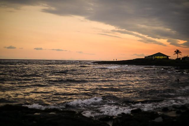 Punalu'u Sunset