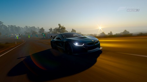 388 bmw i8 sunrise | by beastbladedude
