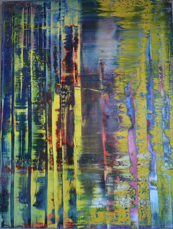 Gerhard Richter 'Abstract Painting 780-1'