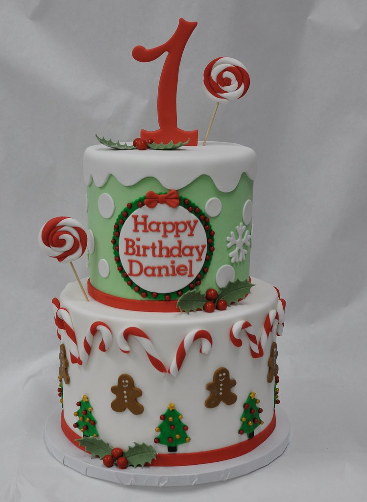 Christmas Birthday Cake.Christmas Birthday Cake Jenny Wenny Flickr