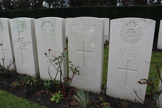 Ypres Town Commonwealth War Graves Cemetery and Extension - Ypres, Belgium, Friday 29th December 2017 | by ChrisPDay