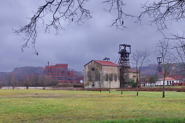 59 Forbach décembre 2017 le Musée de la Mine à Petite Rosselle