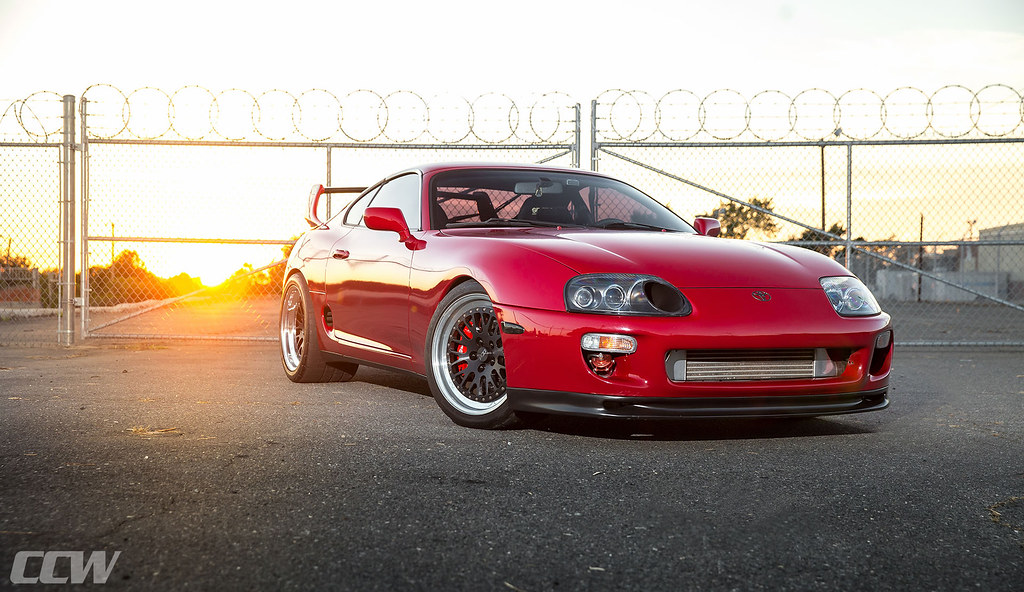 Renaissance Red Toyota Supra Mkiv Ccw Classic 3 Piece Wh Flickr