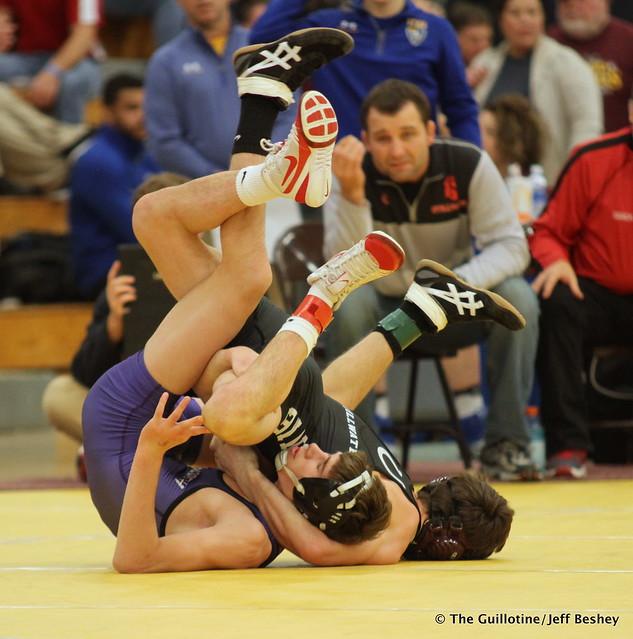 120 Semifinal - Reid Ballantyne (Stillwater) 13-1 won by fall over Charlie Stuhl (Ellsworth) 12-3 (Fall 2:58) - 171216BJF0056