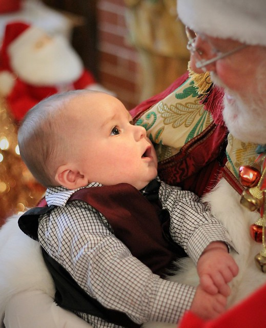 First Visit with Santa