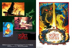 The Secret of N-I-M-H (1982 / MGM/United Artists) front & back covers