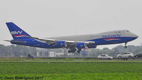 VQ-BWY - Silk Way West Airlines - Boeing 747-83QF - AMS/EHAM