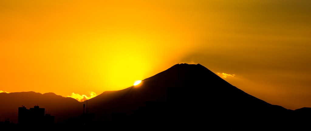 #3 Mt Fuji at sunset