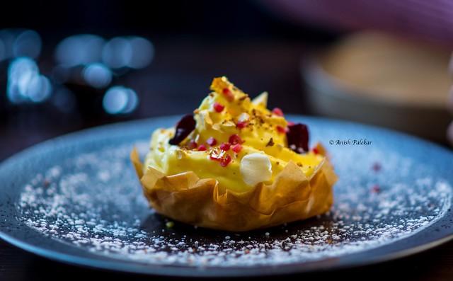 Enjoying desserts at Rooh, San