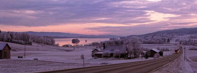 Suède hiver 1992