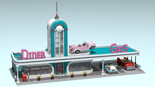 Downtown Diner XL - WiP (2)