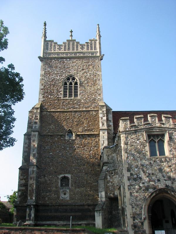 Hythe church, Colchester