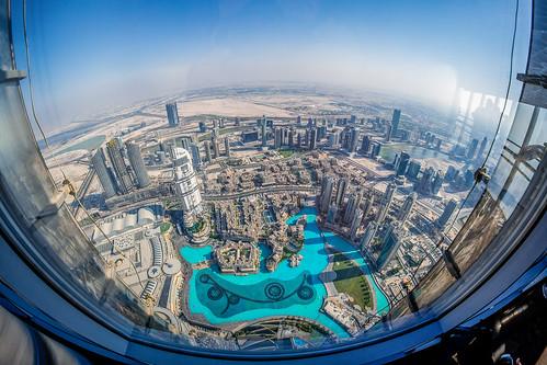 burj khalifa emiradosárabesunidos landscapes towers sky