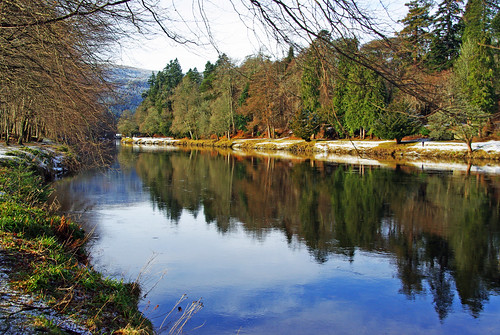 ericrobbniven scotland dunkeld perthshire walking