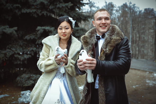 Lovely Moscow weddings