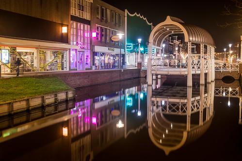 Zaandam at night