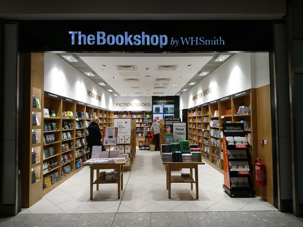 WHSmith now has a bookshop