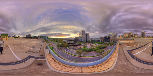 360° pano spherical 360views johannesburg south africa southafrica panorama panoramic pano2vr sunset sunrise dusk dawn nikon 8mm sigma colors buildings architecture