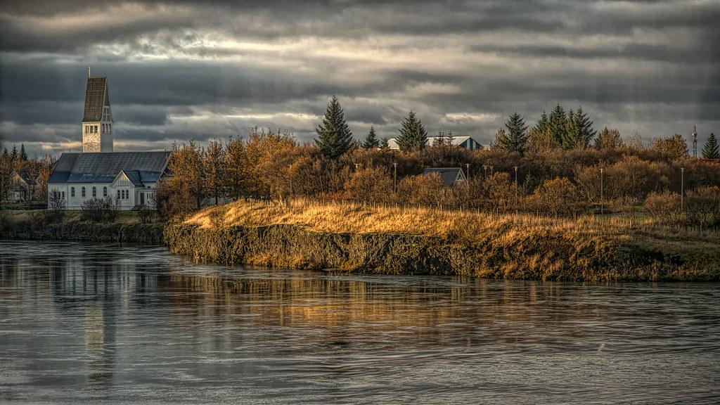 Church By A River