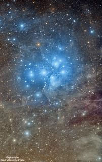 Las pleyades 2018 mosaico de 3v2 | by astrocentejo (La Tierra se me queda pequeña)