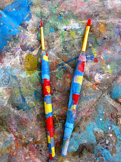 brushes from where wonders come from, scott richard | by the art of liquid painting