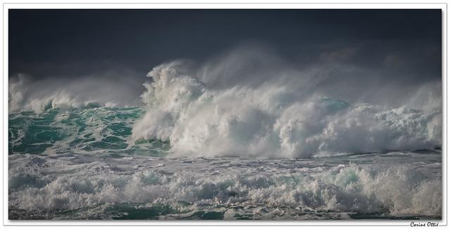 La mer, même pas en colère ! Et pourtant ...
