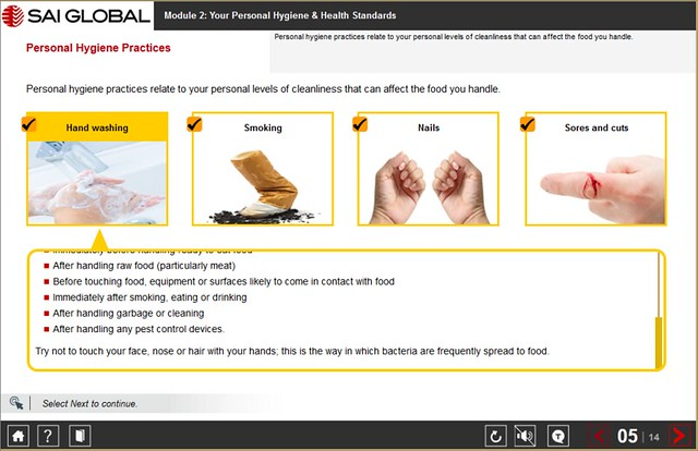 Online Introduction to Food Safety