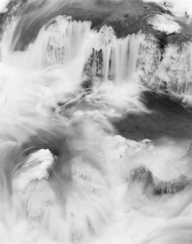 ice chattoogariver nantahalanationalforest westernnorthcarolina largeformat film ilford fp4 ddx arcaswiss fline 4x5 nikkorm300mm19 epsonv700 affinityphoto