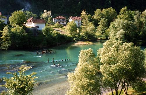 rivder una bihac bosniaherzegovina yugoslavia