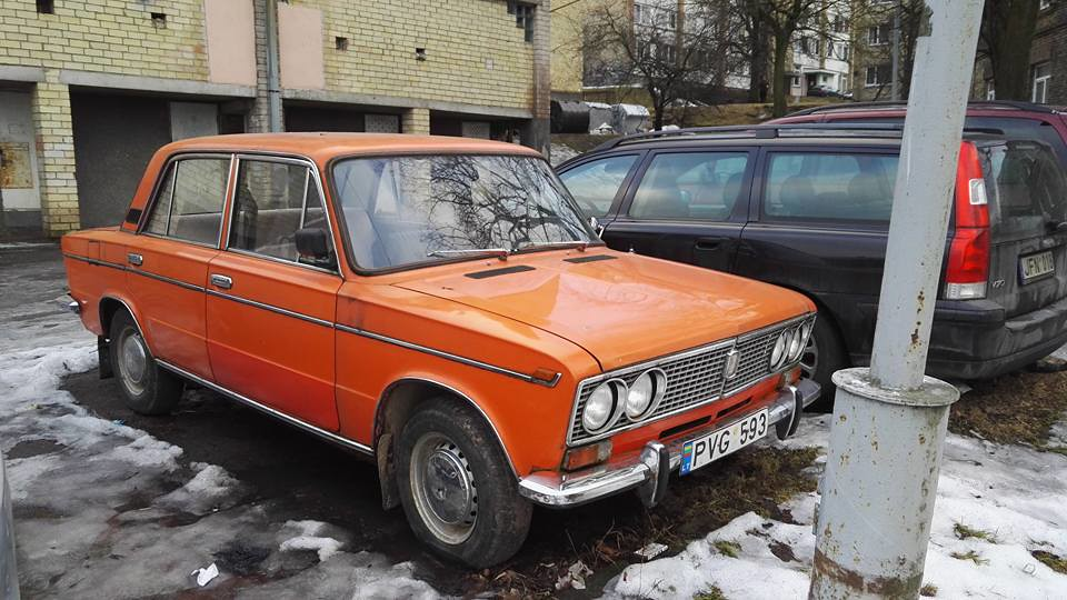 1980 Lada 2103 So This Was The Last Find Lithuania Defini Flickr
