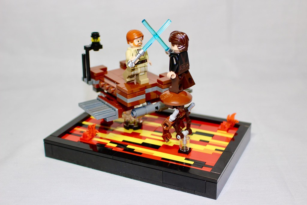 Starwars Episode 3 Revenge Of The Sith Anakin Vs Obi Wan Flickr