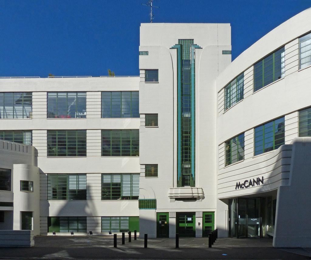 Art Deco UK - London - Daimler Car Hire Garage (now McCann