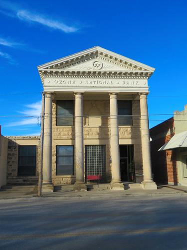 architecture architecturaldetails smalltown bank ozona texas