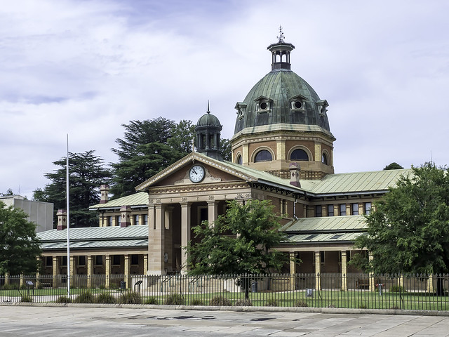 Bathurst Court House (circa 1880) - see below