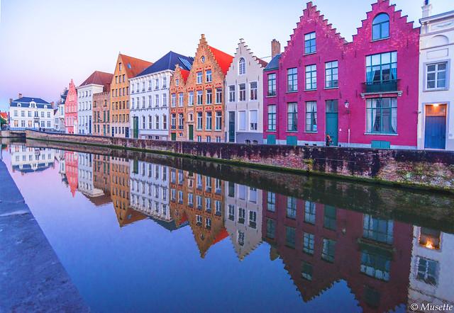 La palette de couleurs, Bruges