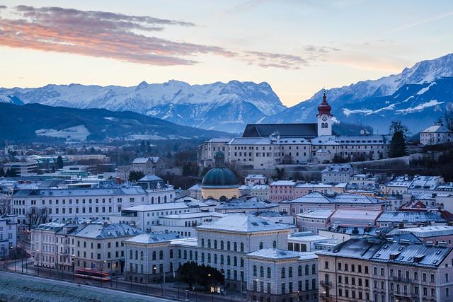 Icy Salzburg Sunrise